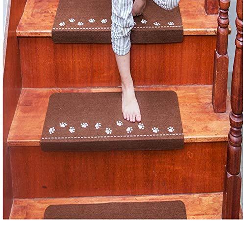 HIUGHJ Teppich leuchtendes visuelles Treppenteppich, Rutschfest, sichere Stufenmatten 5