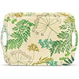 Freelance Bamboo Fibre Kitchen And Dining Wood Serving Tray, Multicolour (DS99BF7684)