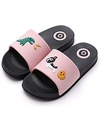 657559b4fa1d KVbaby Kids Antiskid Lovely Bathroom Slipper Boys Girls Beach Pool Shoes  Soft Flip Flops Home Slippers Quick…