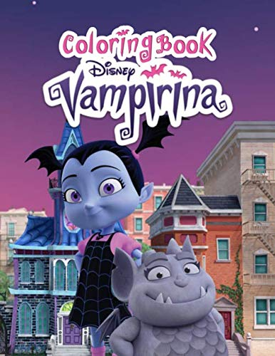 Vampirina coloring book: 50+ funny illustration great coloring book for kids of all ages
