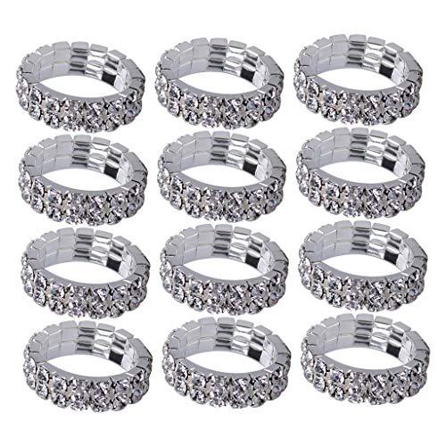 gerring Verlobungsring Hochzeit Ring Eheringe Damen Ring - klar ()