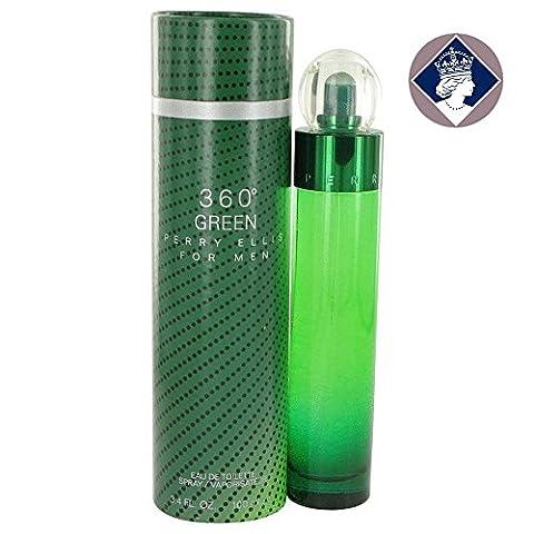 Perry Ellis 360 Green for Men 100ml/3.4oz Eau De Toilette Cologne Spray for Him