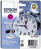 Epson C13T27134022 Cartouche d'encre compatible avec Imprimante Epson Workforce XL Magenta