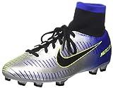 Nike Unisex-Kinder Jr Mercurial Vctry 6 Df NJR Fg Fußballschuhe, Blau (Racer Blue Black Ch R O M E Volt 407), 34 EU