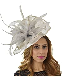 8386cc0f989c3 Gorgeous Velidhoo Large Ascot Derby Fascinator Hat - with Headband -  Available in 30 Colours
