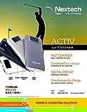 Nextech ACTIV 11700mAh Slim Dual Chargin...