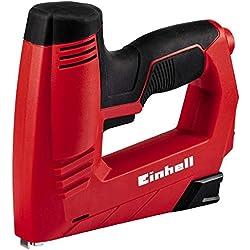 Einhell 4257890 Grapadora Electrica TC-EN 20 Electronica Potencia, 0 W, 240 V, Rojo
