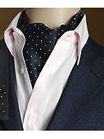 Retro Style Men Jacquard Polyester Elegant Cravat Neckties for Suit Gift