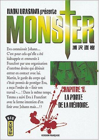 Monster, tome 15 par Naoki Urasawa