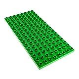 hellgrüne Grundplatte hell grün 16 x 8 Noppen Platte Lego Duplo D17