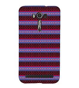 EPICCASE spiral diamonds Mobile Back Case Cover For Asus Zenfone Go (Designer Case)