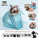 Fellpflege Pet Katzen Spielzeug Supplies Neugeborene Haustiere Nagel Schneiden kratzfest Multifunktional Fellpflege Tasche Katze Bad Staubbeutel Ohr Reinigung