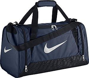 Nike Sporttasche Brasilia 6, midnight navy/schwarz/weiß, 52 x 28 x 30 cm, 43 Liter, BA4831-401