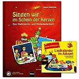 Canta nel segno delle candele – libro, CD – un entusiasmante libro di canzoni natalizie e invernali – con 177 canzoni, canzoni, Raps, Kanons etc – Helbling Verlag 9783850615655 9783850618731
