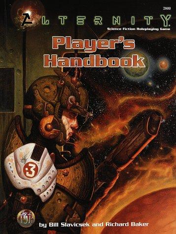 ALTERNITY PLAYER'S HANDBOOK (Hardcover Rules Book) (Alternity)