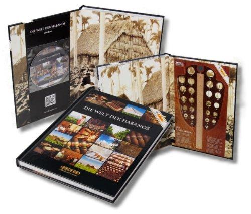 Lifestyle-Ambiente Fachbuch: Die Welt der Habanos inkl. CD und Ringmaßlehre inkl Tastingbogen