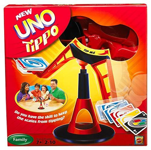 Mattel R2827-0 - UNO Tippo, Kartenspiel