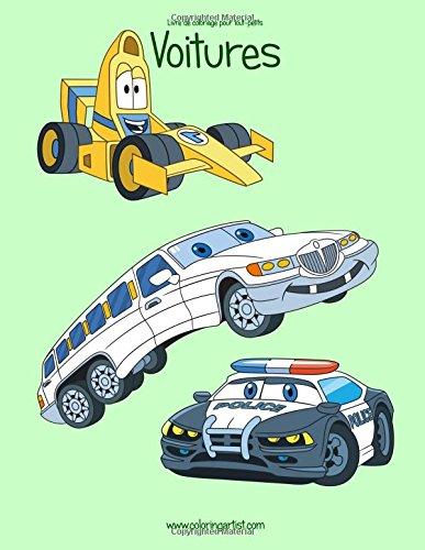 Livre de coloriage pour tout-petits Voitures 1 par Nick Snels