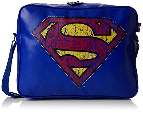 BB Designs Europe Limited Classic Superman Messenger Bag, Sac mixte adulte