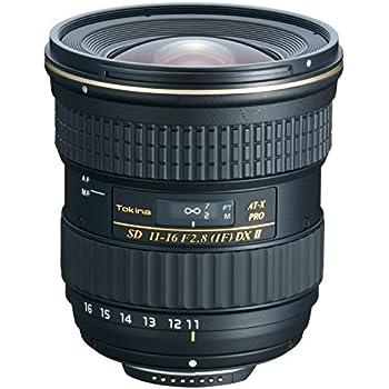 Tokina AT-X 116 PRO DXII - Objetivo para Nikon APS-C (distancia focal 11-16mm, apertura f:2.8-22, diámetro: 77mm), negro