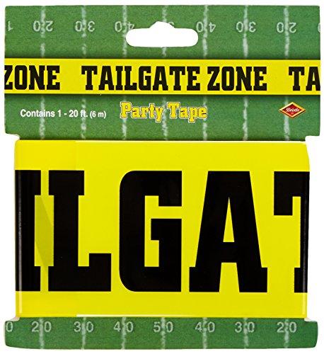 léopard 66128 1-Pack Tailgate Zone décoratif Ruban de fête, 3 par Recette