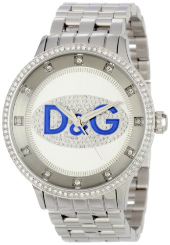 D&G Dolce & Gabbana DW0133 Men's Stainless Steel Prime Time Watch