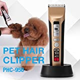 PETFLY Grooming Clippers with RMP Intelligent Control System Rechargeable Cordless Electric Clippers Kit for Pets