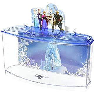 Officially Licensed Disney's Frozen Themed Betta Tank From Penn Plax: Perfect For Betta Fish, This Small Tank Is Perfect… 3