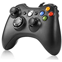JAMSWALL Game Controller per Xbox 360,Wired Game Controller Gamepad Controller Cablato USB, Joystick, Joypad Compatibile per Microsoft Xbox & Slim 360 PC Windows