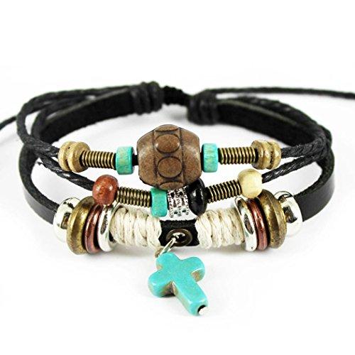 zeit-leihhausfunktion-retro-kreuz-anhnger-holz-perlen-multilayer-verstellbar-unisex-armband