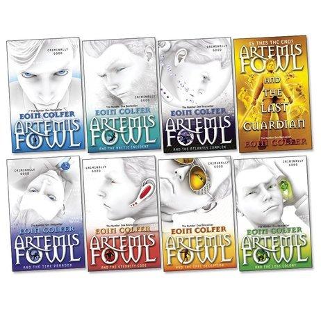 Artemis Fowl Pack, 8 books, RRP £55.92 (Artemis Fowl; Time Paradox; Atlantis Complex; Last Guardian; Opal Deception; Arctic Incident; Eternity Code; Lost Colony).