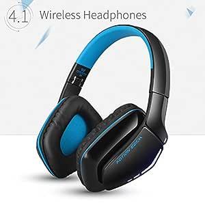 Kotion Each B3506 Wireless Bluetooth Headphone with Mic (Black/Blue)