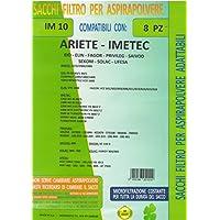 mfim10conf 8bolsas sobres Ariete–Imetec–EIO–Fagor–Privileg–SAIVOD–Sekom–Solac–Ufesa–Compatible con todos los modelos Indicati en fotos