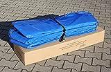 Premium Federabdeckung 395 cm 3,96-4,0 m für Trampolin Randabdeckung Randschutz Abdeckung PVC zweiseitig - UV Beständig