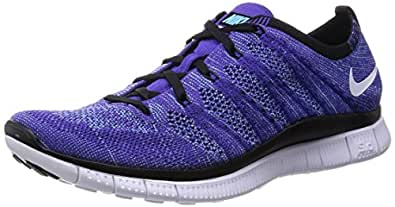 reputable site 2c4c4 9447b Nike Free Flyknit NSW (Court Purple) (10 UK): Buy Online at Low ...