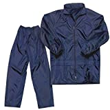 #3: Capeshoppers Rain Suit with Hood (Blue)