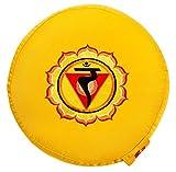 Yogabox Meditationskissen Glückssitz Chakra, gelb / 3. Chakra Solar-Plexus-Chakra (Manipura)