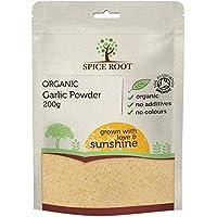 Polvo de Ajo Orgánico 200g (organic Garlic powder) - Calidad superior, orgánica certificada | Bio | Vegan | Excelente Sabor y Aroma
