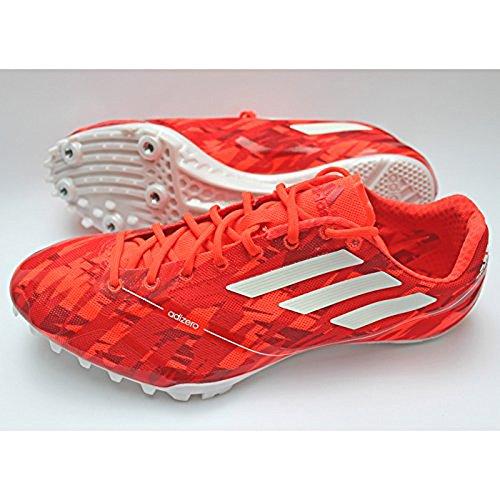 Adidas Adizero Primo Finesse Scarpe Atletica leggera Unisex incl. Spikes Rosso