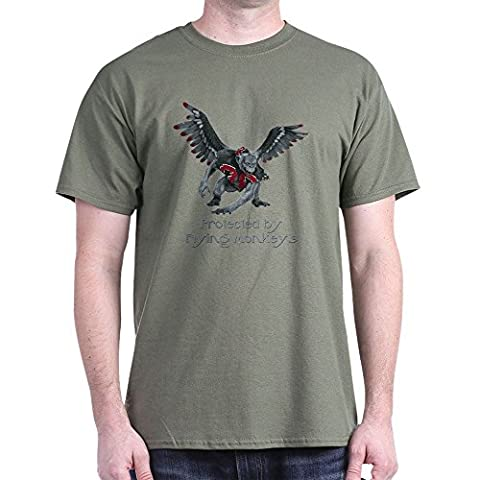 CafePress - Protected By Flying Monkeys - 100% Cotton