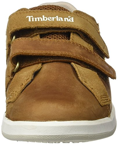 Timberland Court Side H&l Oxtrail Saddleback Full Grain, Oxford Mixte Enfant Vert (Trail Saddleback Full Grain)