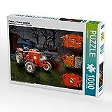 Oldtimer Traktor Güldner 1000 Teile Puzzle quer: Ein Motiv aus dem Kalender