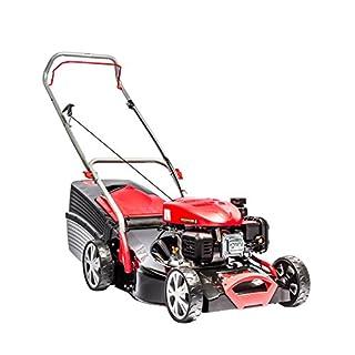 AL-KO Benzin-Rasenmäher Classic 4.66 P-A, 46 cm Schnittbreite, 2.0 kW Motorleistung, für Rasenflächen bis 1.100 m², Schnitthöhe 7-fach verstellbar, robustes Stahlblechgehäuse