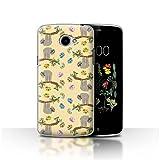 Stuff4 Phone Case for LG K5/X220 Wild Animal Sloth Cute