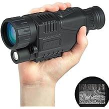 3,66 cm Optics 5 cajas de almacenamiento para 40 LCD Digital infrarrojo visión nocturna Monocular de vídeo para fotografías con varios bolsillos Zoom para Airsoft Tactical para caza y práctica