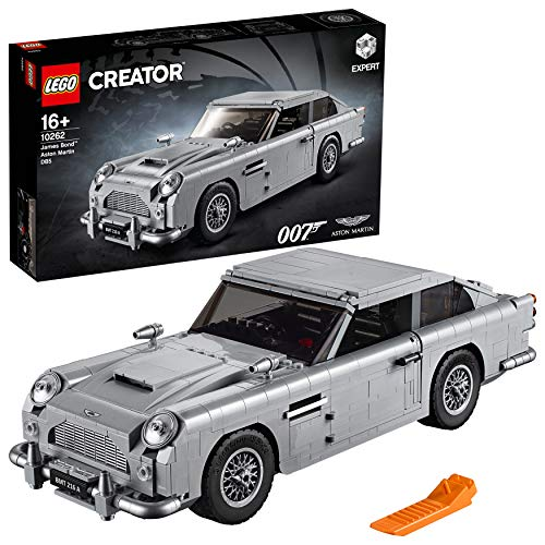 LEGO Creator Expert James Bond Aston Martin DB5 (10262) LEGO für Sammler (Lego London Bus)