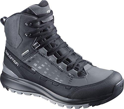 Salomon  Kaïpo Mid GTX, Chaussures de trekking et randonnée homme black/autobahn/pewter