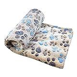 YOUJIA Weiche Decken Für Hund Oder Katze Haustierdecke Hundedecke Tierdecke (Kaffee, L)