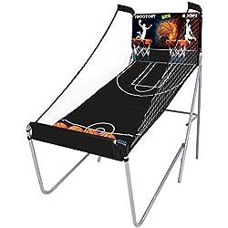 Mightymast Leisure Hoops Shootout Jeu de basketball concours de tir Bleu
