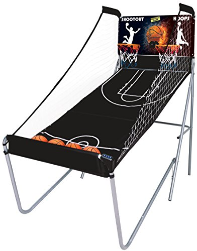 Mightymast Leisure Unisex Shootout Hoops Basketball Game - Black Test